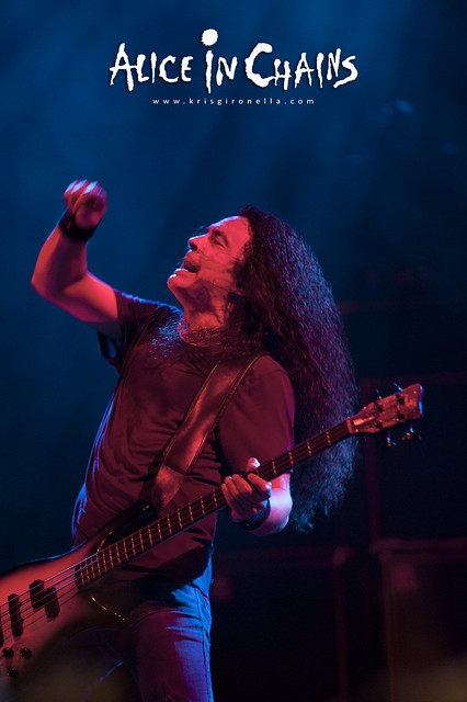 Alice in Chains bassist Mike Inez - Singapore Rock Fest 2014