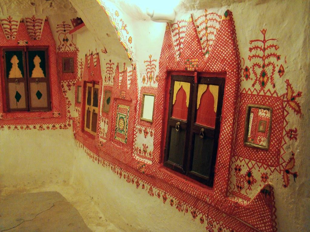 Interior de casa tradicional Oasis Gadames Libia 57