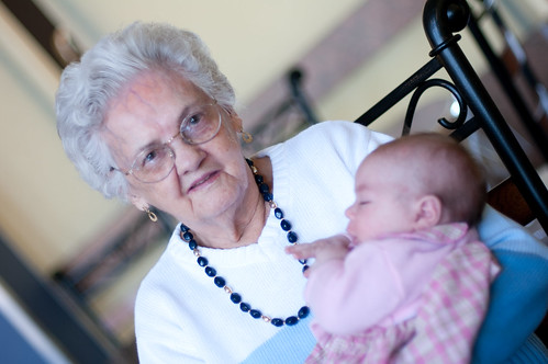 Willa and great-grandma