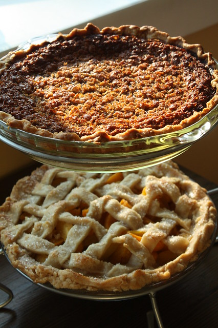 a couple of dessert pies