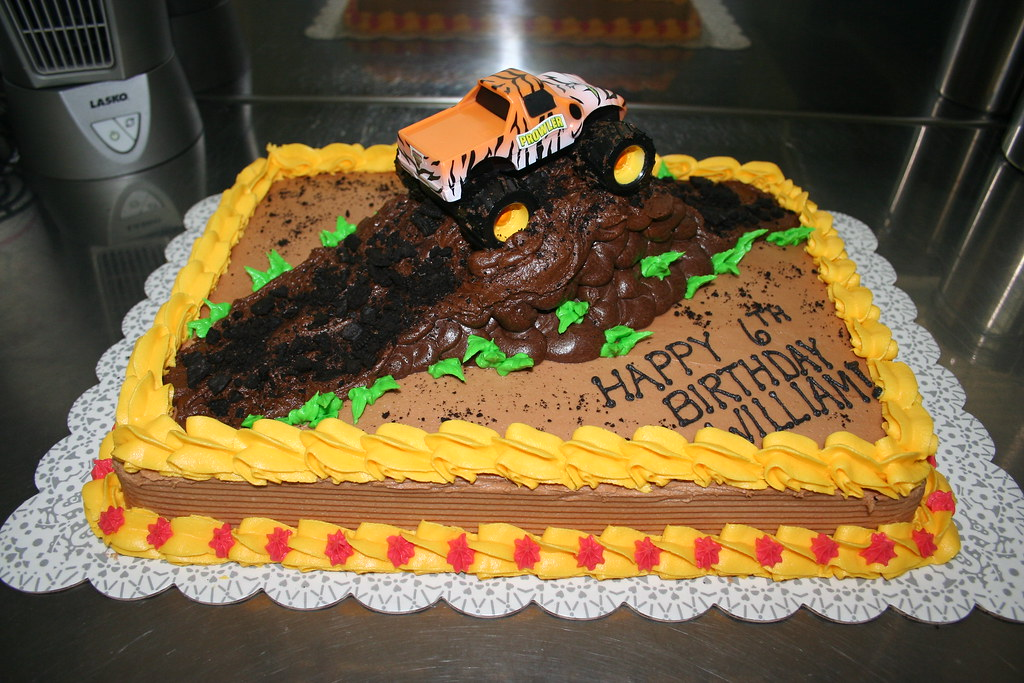 Monster Truck Mound Cake A Photo On Flickriver