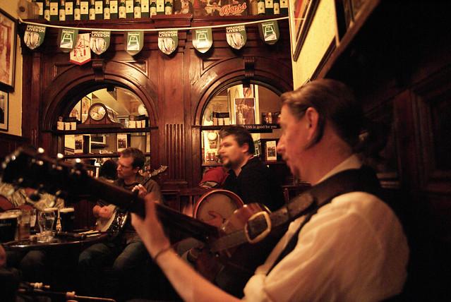 Dublin trad music