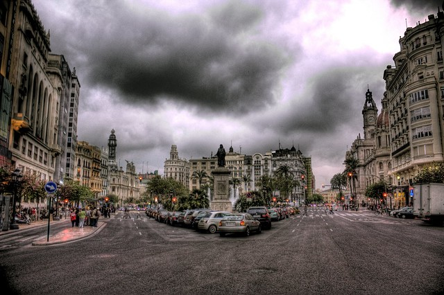 City Center, Valencia, Spain