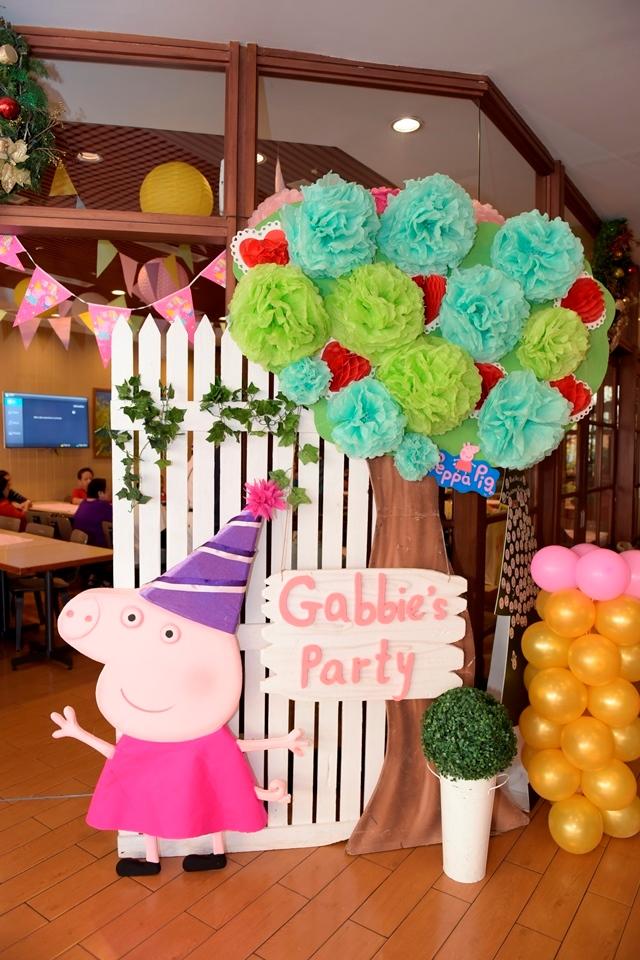 Gabbie S Peppa Pig Themed Party 2nd Birthday Party Doll Manila