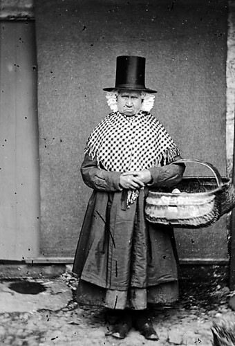 Mary Parry, Llanfechnell. Taken 1875