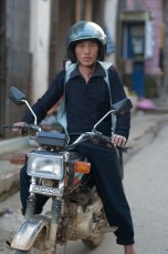 Black Hmong Xe Om Driver