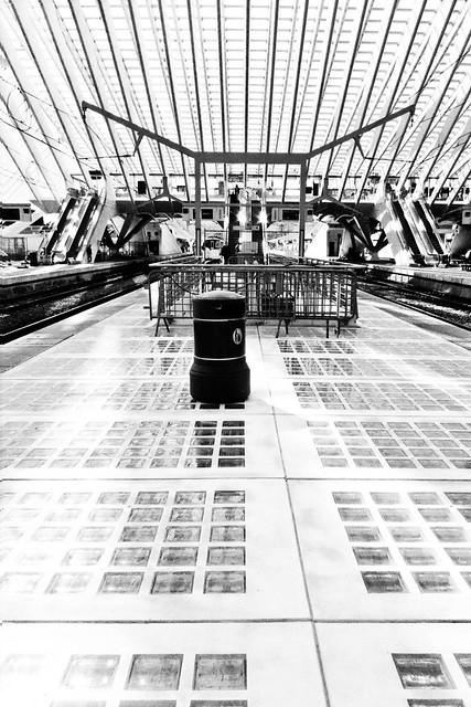 The Lost Droid (Liège-Guillemins) Photo : Gilderic