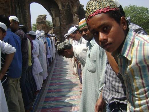 Juma at Jami Masjid, Firoze Shah Kotla
