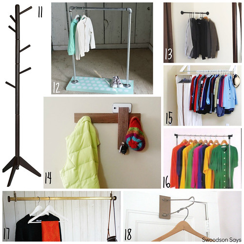 25 Creative Ways To Display Clothes