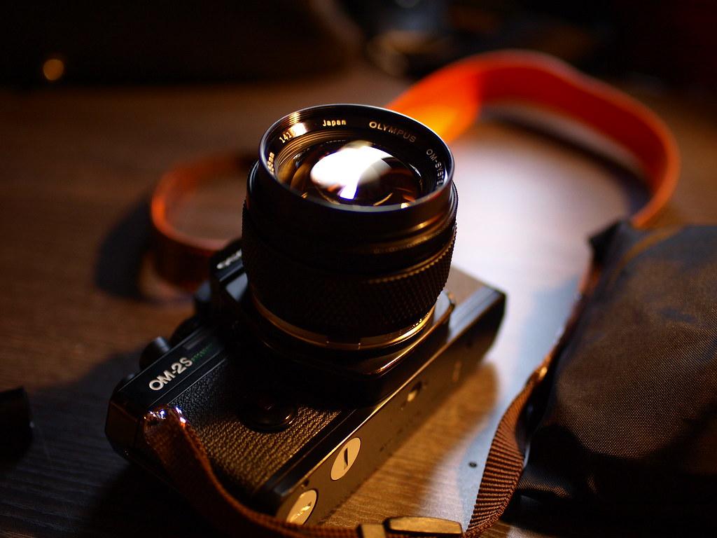 OM G.ZUIKO 55mm f1.2