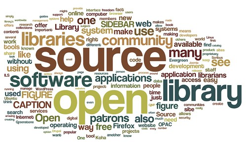 Wordle from Open Source Book