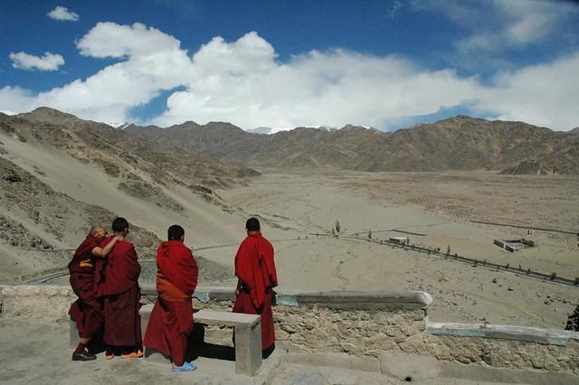 Thiksey monastry, Ladakh, India