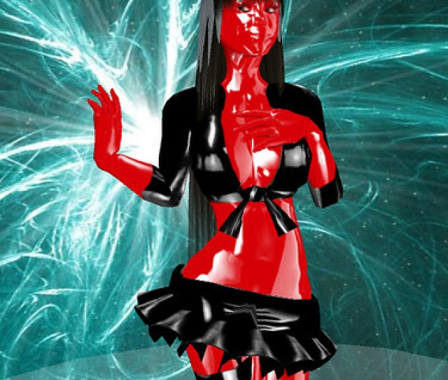 Im A Shiny Red Rubber Latex Devil