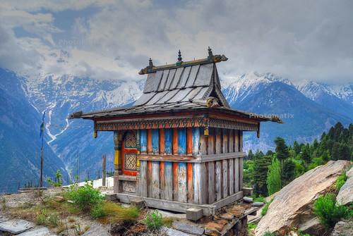 Temple in Kalpa, Himachal Pradesh