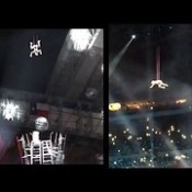 Lady Gaga Super Bowl Halftime Show (Audience View From Inside Stadium)