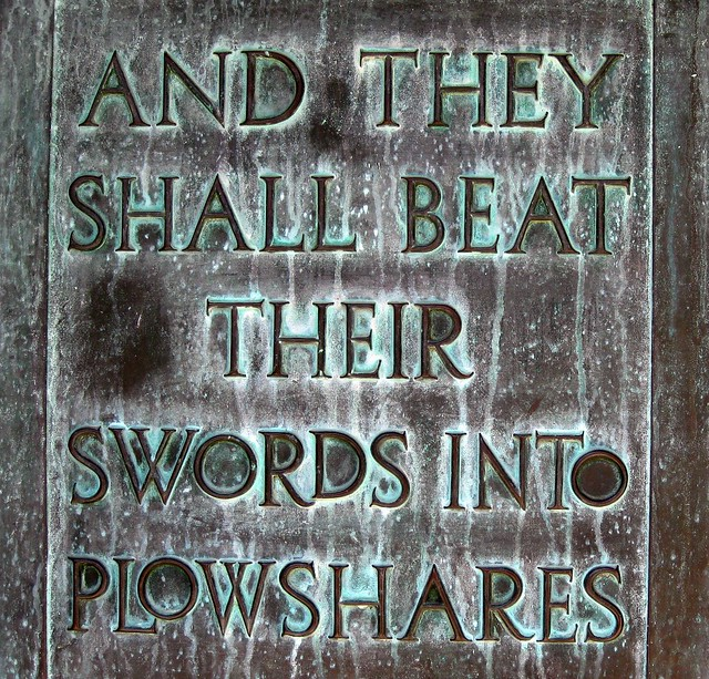 Shall Beat Swords They Their Plowshares