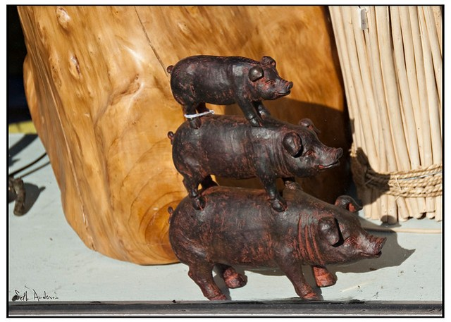 We Three Pigs