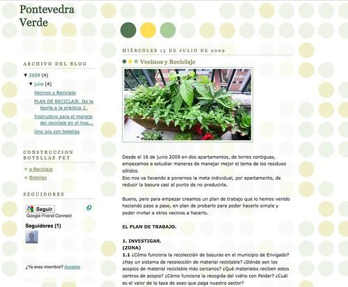 Pontevedra Verde. Objetivo (cero) basura.