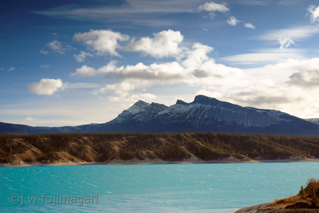 Abraham Lake from Allstones