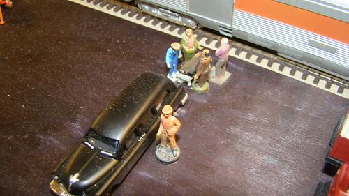 Funeral by train on the Oak River R.R.Model R.R. Club.