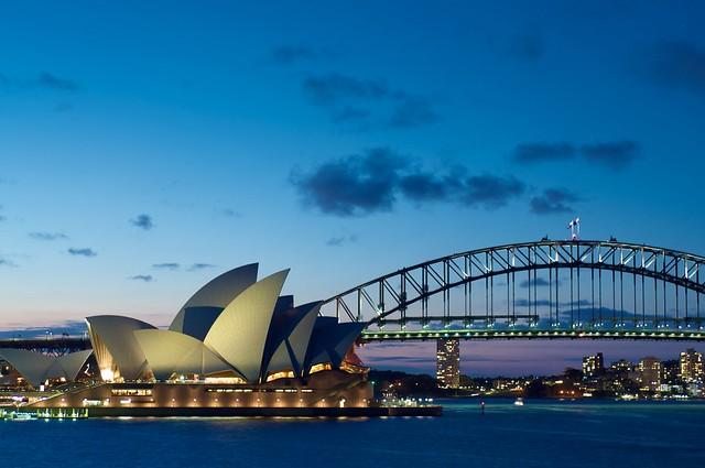 Mrs Macquaries Chair - Sydney Australia