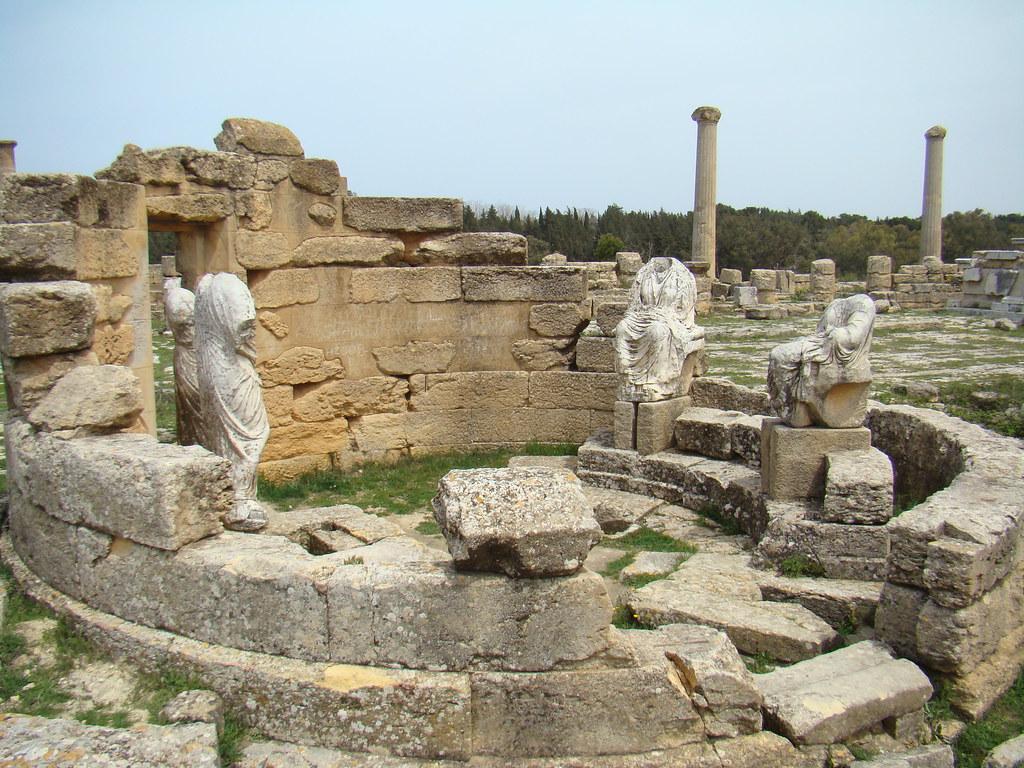 Libia Templo de Demeter y Core Agora de Cirene 10