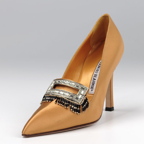 Shoes: Camata designed by Manolo Blahnik (2000-2001)