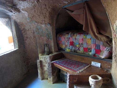 Underground sleeping cove
