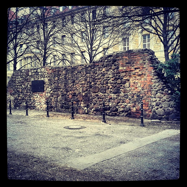 Berlino: i resti delle mura del '200