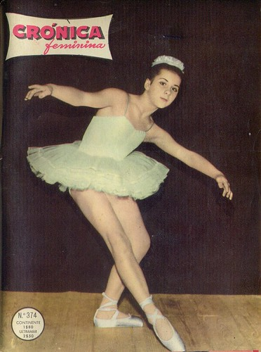 Crónica Feminina, No. 374, January 23 1964 - cover by Gatochy
