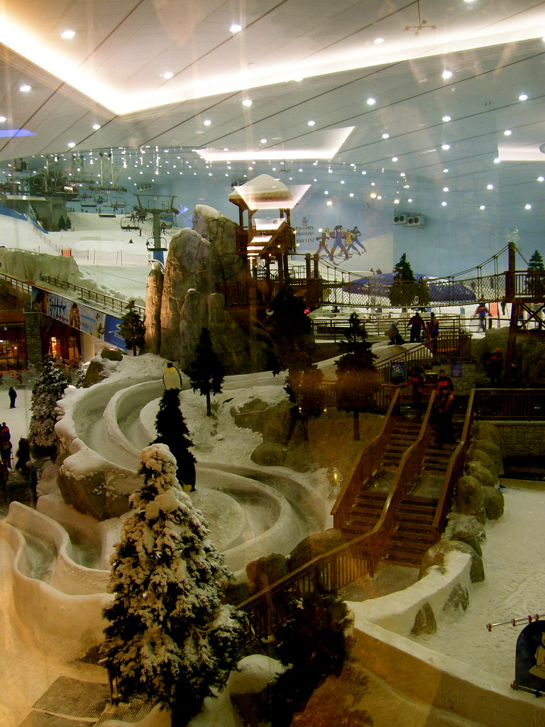 Ski Park in Mall of Emirates