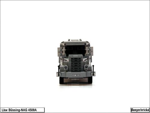 Camión Bussing-NAG 4500A
