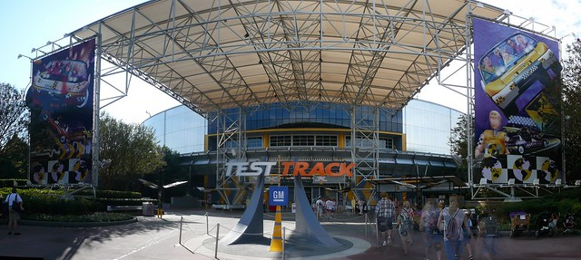 Test track Epcot Panorama 2009