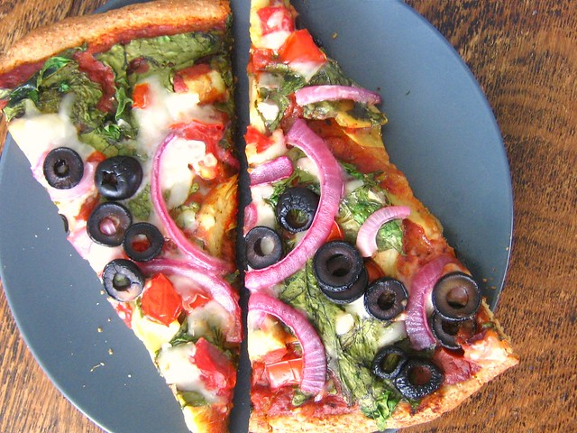 wheat-free vegan pizza