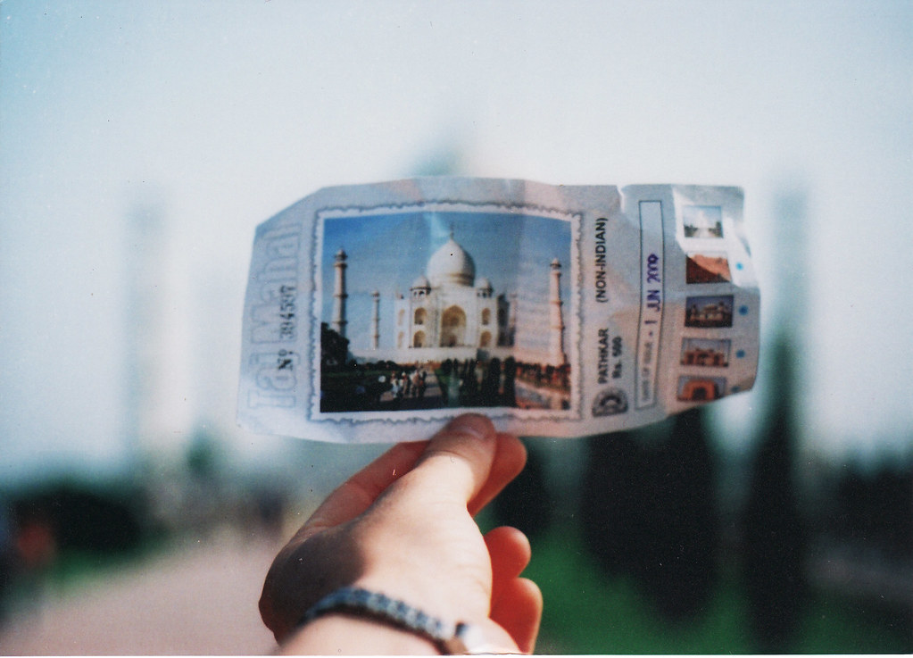 Ticket to the Taj