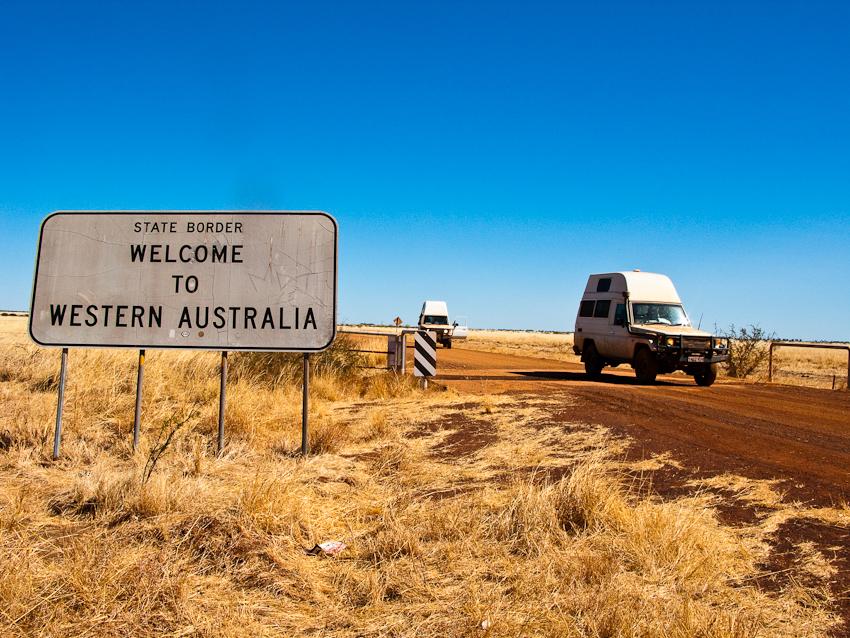 Auf dem Buntine HWY ins Northern Territory