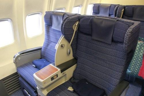737-800のプレミアムクラス