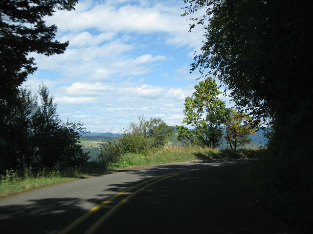 Byway Scenic Columbia River Map Gorge