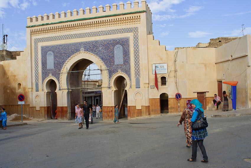 Fez: Eingang in die Medina