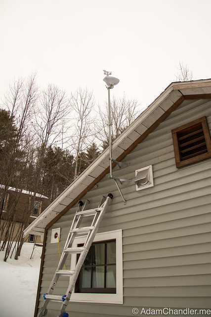 Ambient Weather WS-1001-WIFI OBSERVER Install