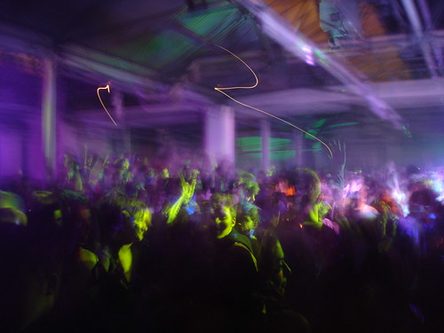 Warehouse rave