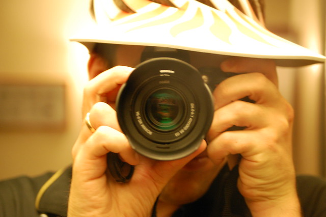 Paparazzi self-portrait