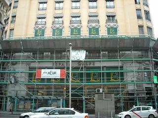 Rehabilitación de un edificio en Madrid. Foto: Darío Álvarez, 2011