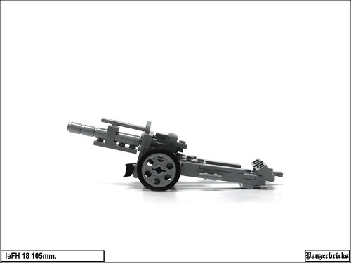 leFH 18 de 105mm. de Panzerbricks
