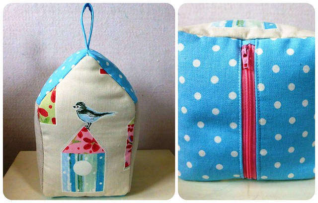 Birdhouse Doorstop class sample