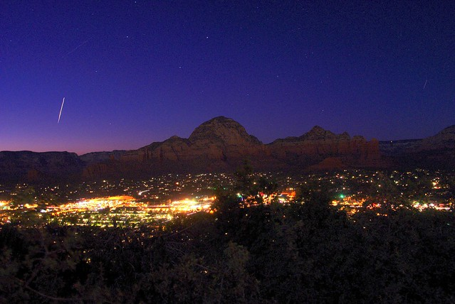 Space Station over Sedona