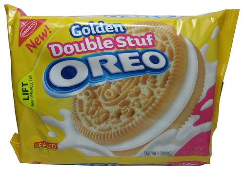 Golden Double Stuf Oreo