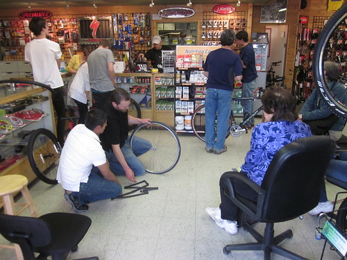 Bike Smith Flat Tire Repair Clinc