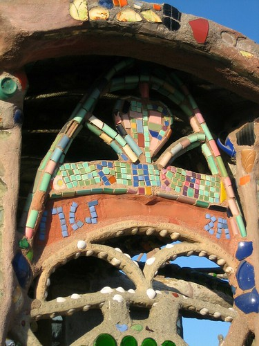 Front door (Watts Towers)