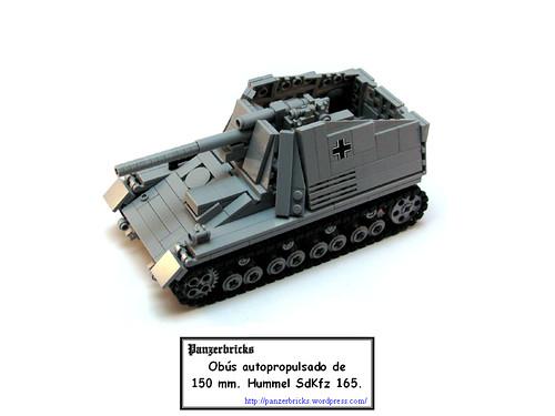 Hummel SdKfz 165 de Panzerbricks
